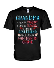 MY BEST FRIEND V-Neck T-Shirt thumbnail