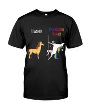 UNICORN KINDERGARTEN TEACHER Classic T-Shirt front