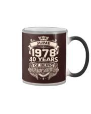 HAPPY BIRTHDAY JUNE 1978 Color Changing Mug thumbnail