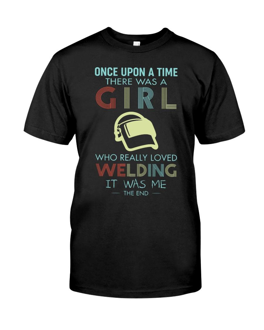 REALLY LOVE WELDING Classic T-Shirt