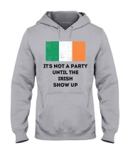 IT'S NOT A PARTY  Hooded Sweatshirt front