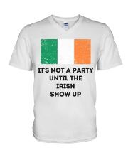 IT'S NOT A PARTY  V-Neck T-Shirt thumbnail