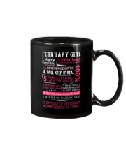 FEBRUARY GIRL Mug thumbnail