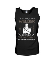 WELDER CAN DO THE IMPOSSIBLE Unisex Tank thumbnail