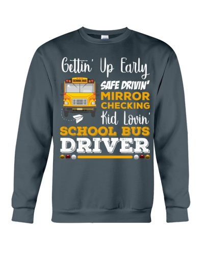 SCHOOL BUS DRIVER LOVES KIDS