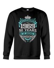 Birthday Gift November1969 Crewneck Sweatshirt thumbnail