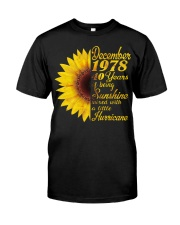 HAPPY BIRTHDAY 1978 40 YEARS Classic T-Shirt front