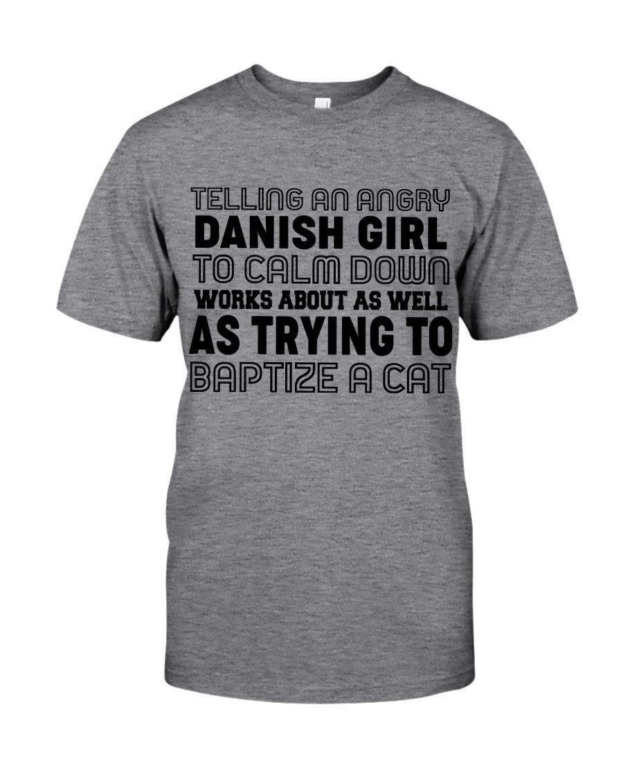 DANISH GIRL Classic T-Shirt