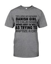 DANISH GIRL Classic T-Shirt front