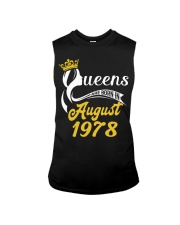 QUEENS ARE BORN IN AUGUST 1978 Sleeveless Tee thumbnail