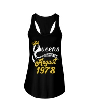 QUEENS ARE BORN IN AUGUST 1978 Ladies Flowy Tank thumbnail