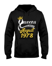 QUEENS ARE BORN IN AUGUST 1978 Hooded Sweatshirt thumbnail
