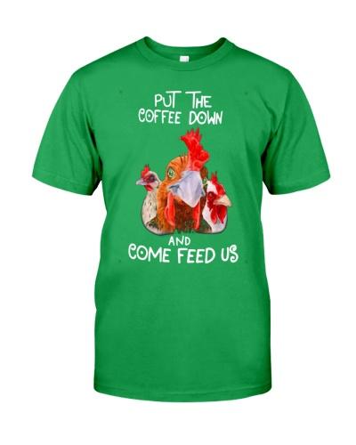 PUT THE COFFEE DOWN