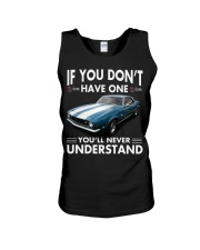 Don't have Camaro chevrolet 196 - NEVER UNDERSTAND Unisex Tank thumbnail
