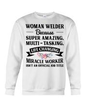 SUPER AMAZING WELDER Crewneck Sweatshirt thumbnail