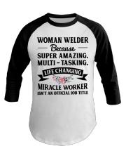 SUPER AMAZING WELDER Baseball Tee thumbnail