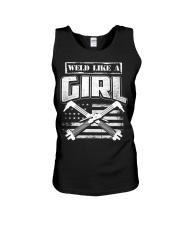 WELD LIKE A GIRL Unisex Tank thumbnail