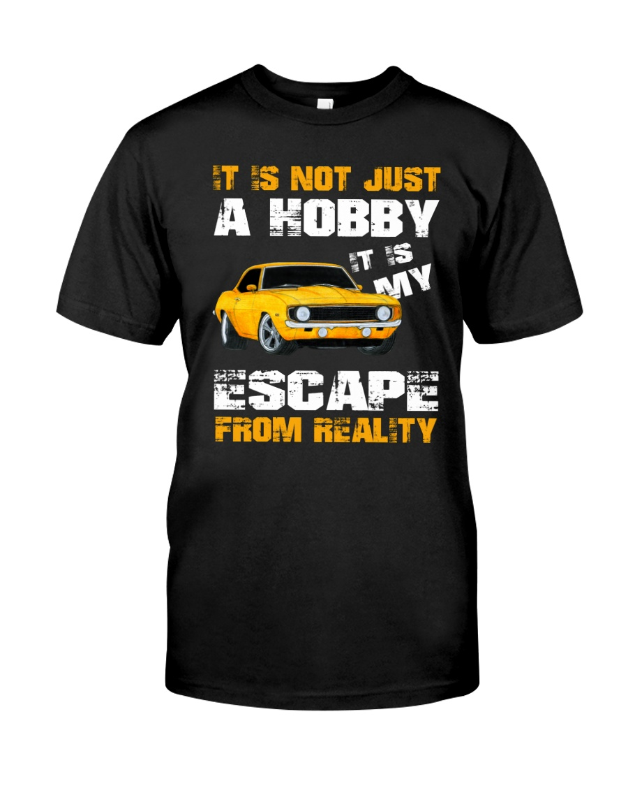 MY ESCAPE FROM REALITY CAMARO VERSION Classic T-Shirt