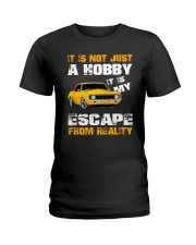 MY ESCAPE FROM REALITY CAMARO VERSION Ladies T-Shirt thumbnail
