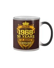 BIRTHDAY MEMORY JUNE 1968 Color Changing Mug thumbnail