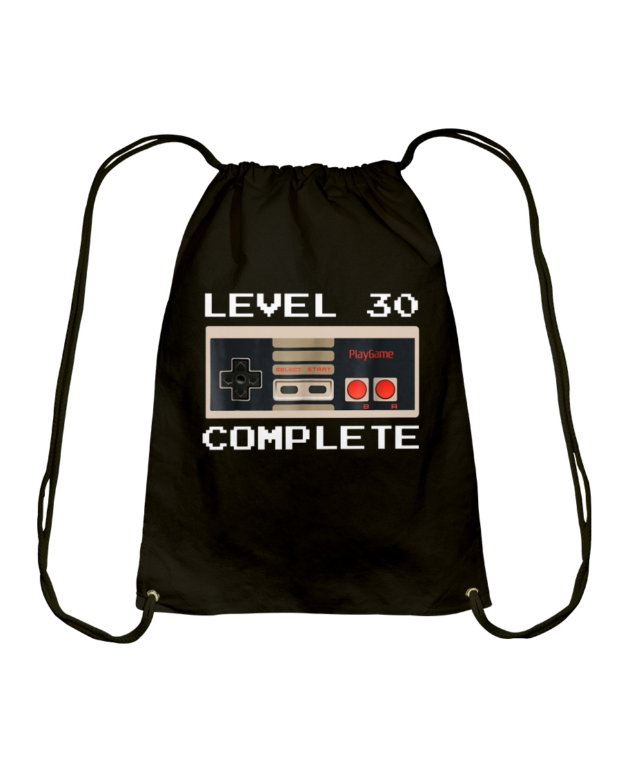 GAME COMPLETE 30 Drawstring Bag
