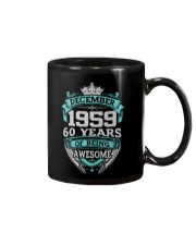 Birthday Gift December 1959 Mug thumbnail