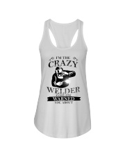 CRAZY WELDER EDITION Ladies Flowy Tank thumbnail