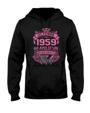 Bon anniversaire  Octobre 1959 Hooded Sweatshirt thumbnail