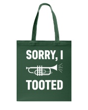 SORRY I TOOTED  Tote Bag thumbnail