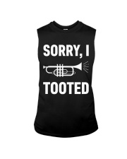 SORRY I TOOTED  Sleeveless Tee thumbnail