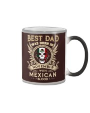 BEST DAD WAS BORN IN NOVEMBER Color Changing Mug thumbnail