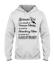 BARTENDER GIRL Hooded Sweatshirt thumbnail