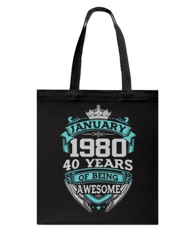 HAPPY BIRTHDAY JANUARY 1980