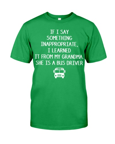 GRANDMA IS A BUS DRIVER