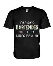 GOOD BARTENDERS V-Neck T-Shirt thumbnail