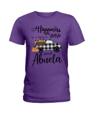 BEING A MOM AND ABUELA Ladies T-Shirt thumbnail