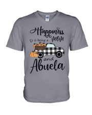 BEING A MOM AND ABUELA V-Neck T-Shirt thumbnail