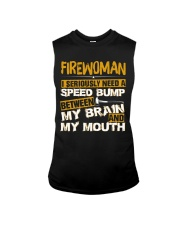 FIREWOMEN NEED A SPEED BUMP Sleeveless Tee thumbnail