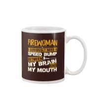 FIREWOMEN NEED A SPEED BUMP Mug thumbnail
