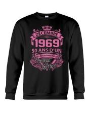 Bon anniversaire  Decembre 1969 Crewneck Sweatshirt thumbnail