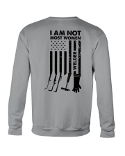 I AM NOT MOST WOMEN Crewneck Sweatshirt thumbnail