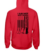 I AM NOT MOST WOMEN Hooded Sweatshirt thumbnail