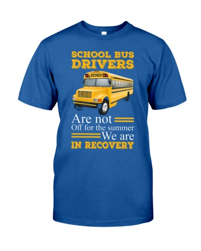 SCHOOL BUS DRIVERS ARE NOT OFF