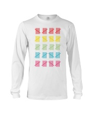 100 DAYS OF SCHOOL Long Sleeve Tee front
