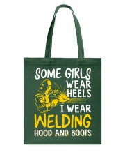 WEAR WELDING HOOD AND BOOTS Tote Bag thumbnail