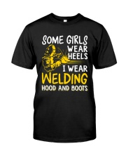 WEAR WELDING HOOD AND BOOTS Classic T-Shirt thumbnail