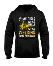 WEAR WELDING HOOD AND BOOTS Hooded Sweatshirt thumbnail