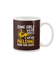 WEAR WELDING HOOD AND BOOTS Mug thumbnail