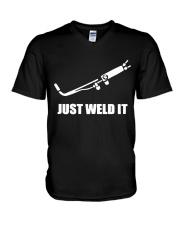 JUST WELD IT V-Neck T-Shirt thumbnail