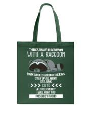 RACCOONS ARE CUTE Tote Bag thumbnail